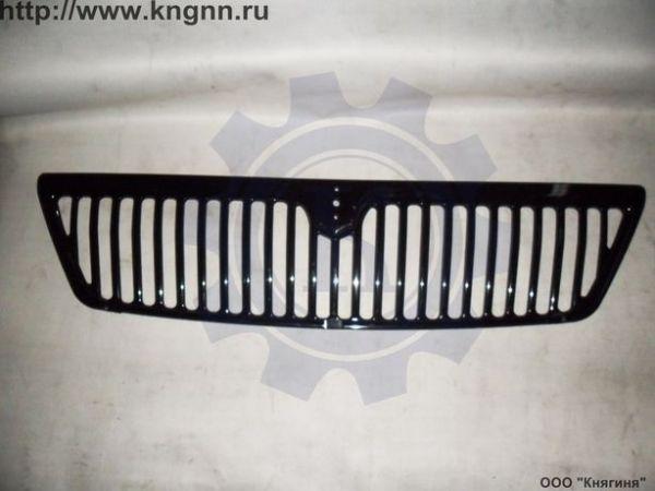 Облицовка радиатора Г-33027 (рестайлинг) пластмасс.