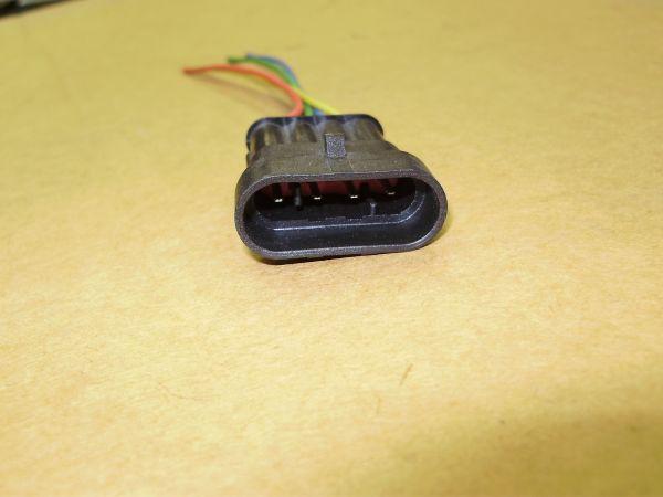 Разъем (022) 4 контакта межжгутовой
