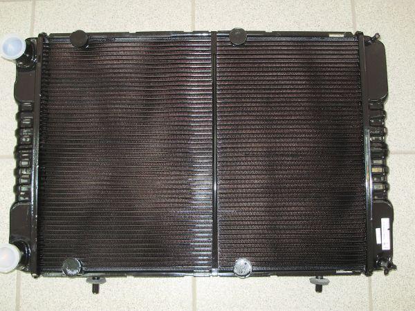 Радиатор Г-2217 2х ряд.медн.УМЗ,Крайслер под эл/вентилятор