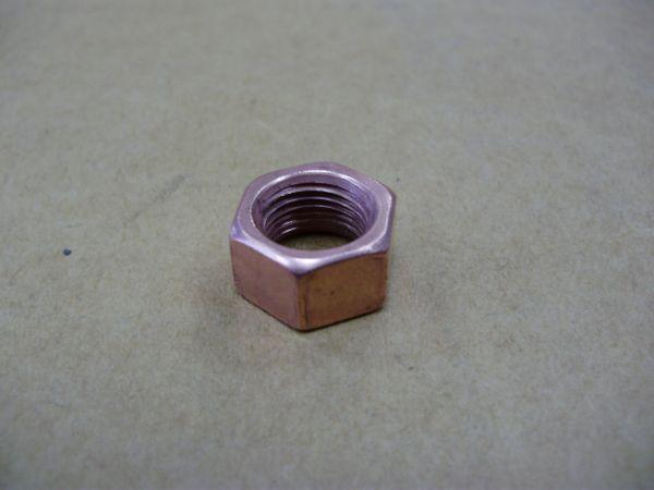 Гайка М10х1 обмедненная ключ 14