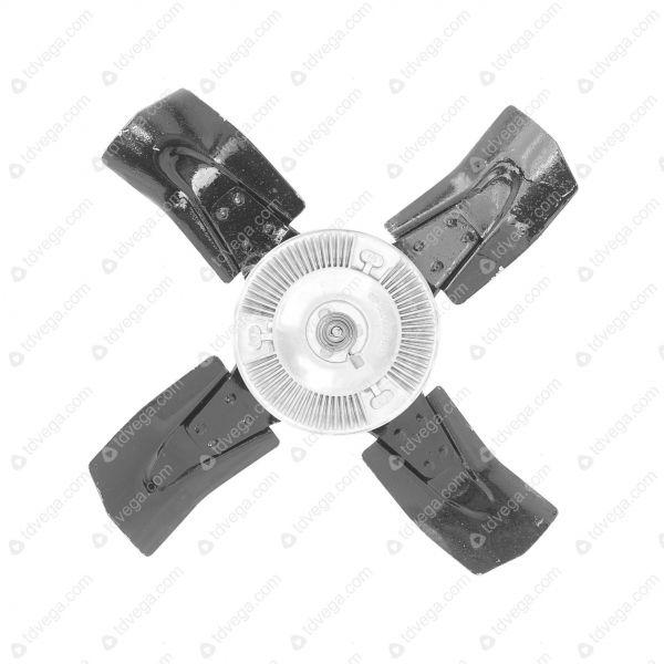 Гидромуфта вентилятора УАЗ 4 лопасти