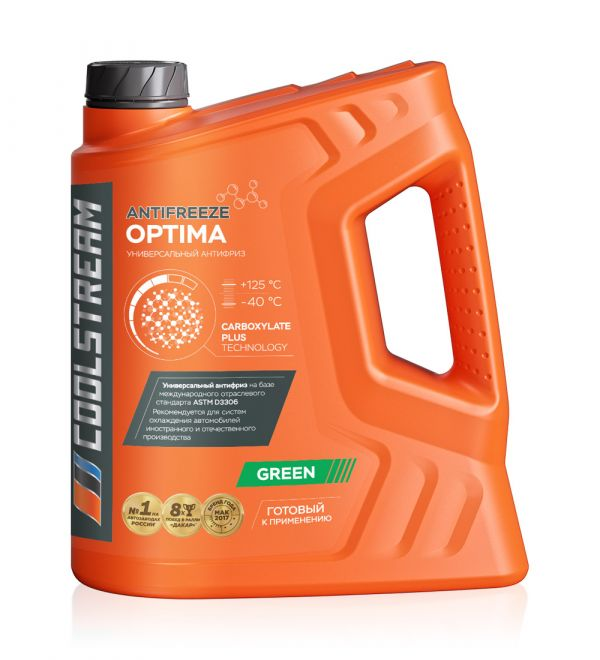 Антифриз COOLSTREAM Optima  5кг зеленый
