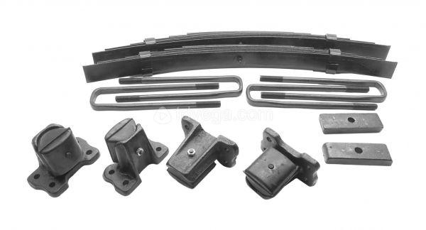Подрессорники УАЗ-452 ( 2 шт. с кронштейнами)